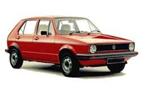 opony do VW Golf Hatchback I