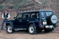 opony do Nissan Patrol Station Wagon I